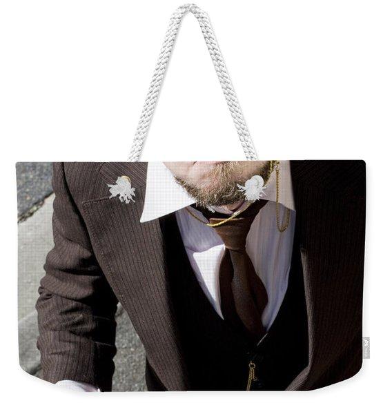 Bugged Man Weekender Tote Bag