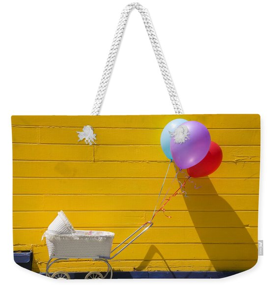 Buggy And Yellow Wall Weekender Tote Bag