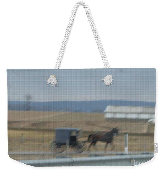 Buggy Ride Three Weekender Tote Bag