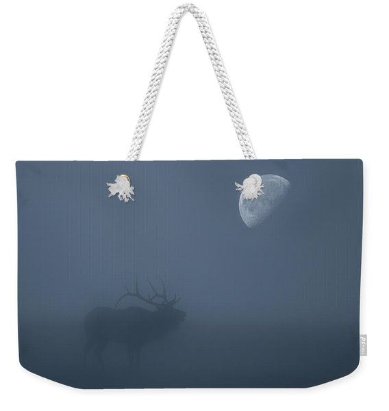Bugle At The Moon Weekender Tote Bag