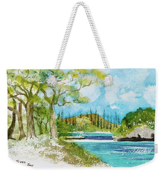 Bugny Trees At Kanumera Bay, Ile Des Pins Weekender Tote Bag