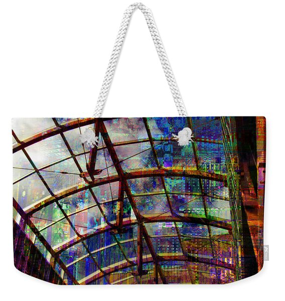 Building For The Future Weekender Tote Bag