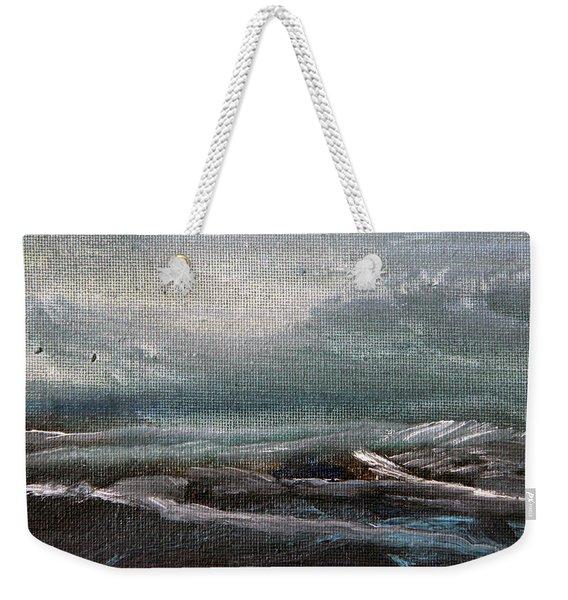 Building Storm Weekender Tote Bag