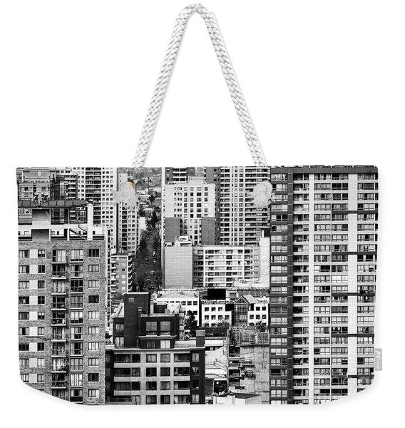 Buildings In Santiago Chile Weekender Tote Bag