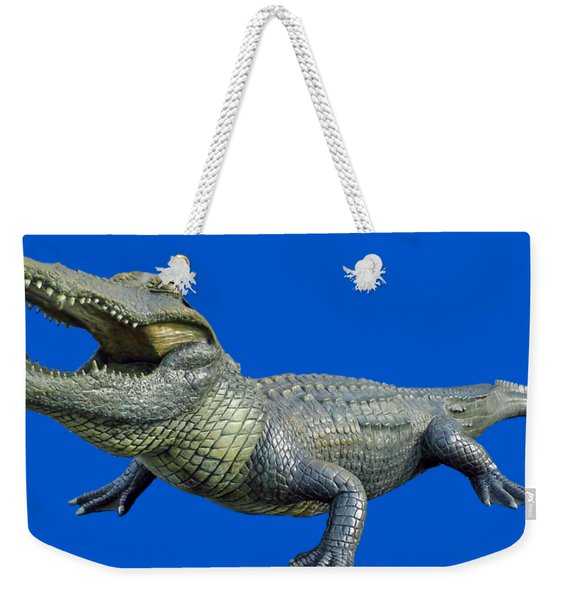 Bull Gator Transparent For T Shirts Weekender Tote Bag
