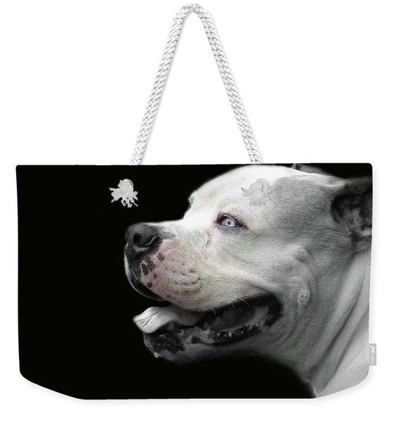Bulldog Sando  Portrait  Weekender Tote Bag