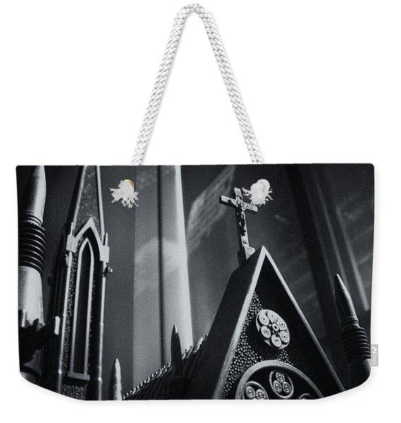 Bullet Church Weekender Tote Bag