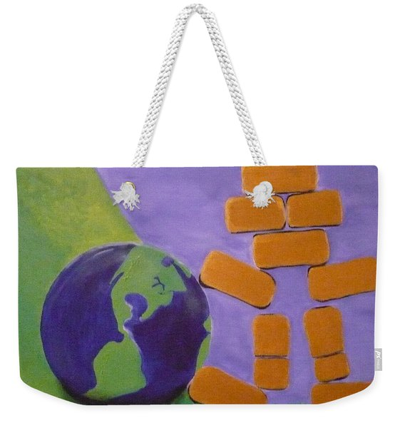 Bullion Supports The World Weekender Tote Bag