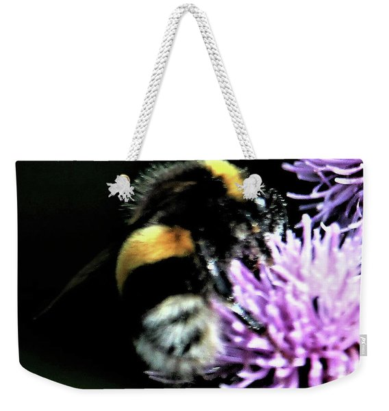 Bumble Bee Weekender Tote Bag
