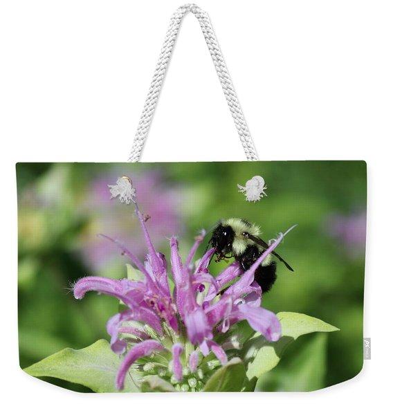 Bumblebee On Bee Balm Weekender Tote Bag