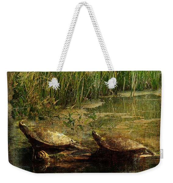 Bump On A Log 2015 Weekender Tote Bag