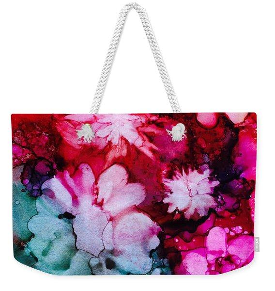 Bunch Of Flowers Weekender Tote Bag