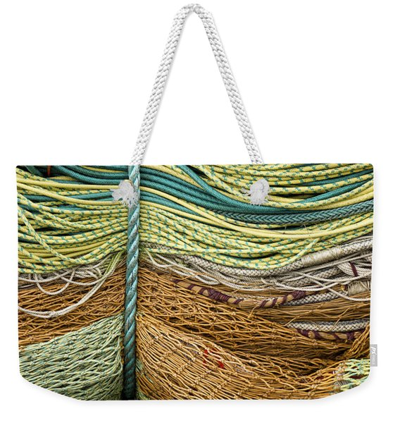 Bundle Of Fishing Nets And Ropes Weekender Tote Bag
