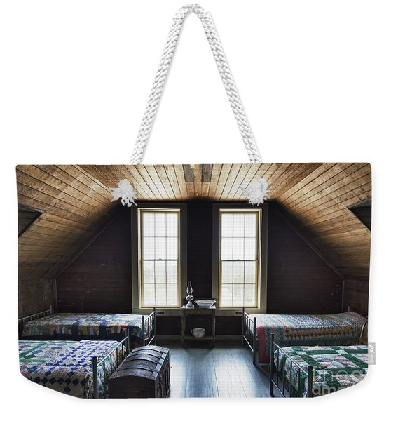 Bunk Room Indian River Life Saving Station Weekender Tote Bag