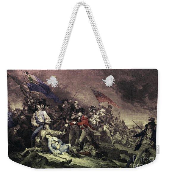 Bunker Hill Weekender Tote Bag