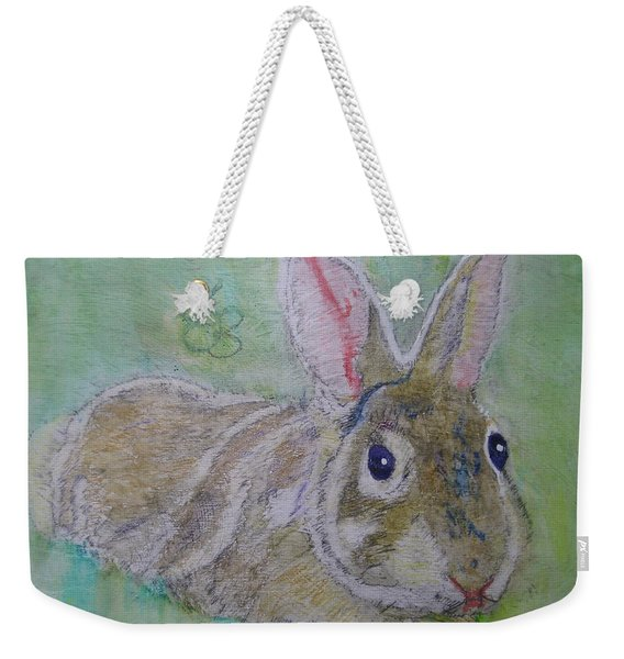 bunny named Rocket Weekender Tote Bag