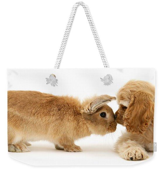Bunny Nose Best Weekender Tote Bag