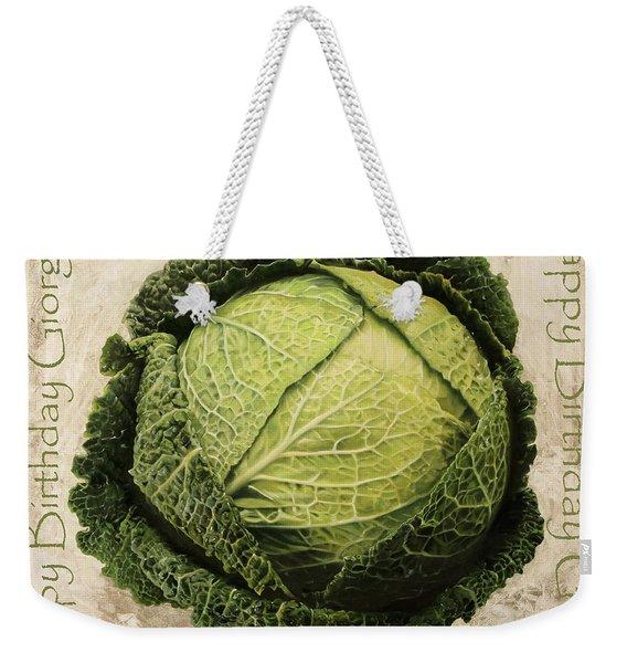 Buon Compleanno Giorgio Weekender Tote Bag