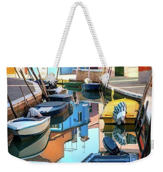 Burano II  Weekender Tote Bag