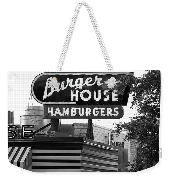 Burger House B W 062218 Weekender Tote Bag