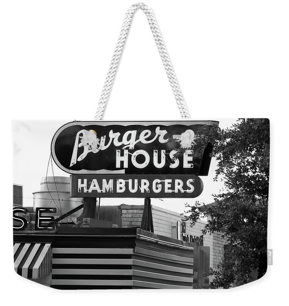 Burger House B W 062218 Weekender Tote Bag