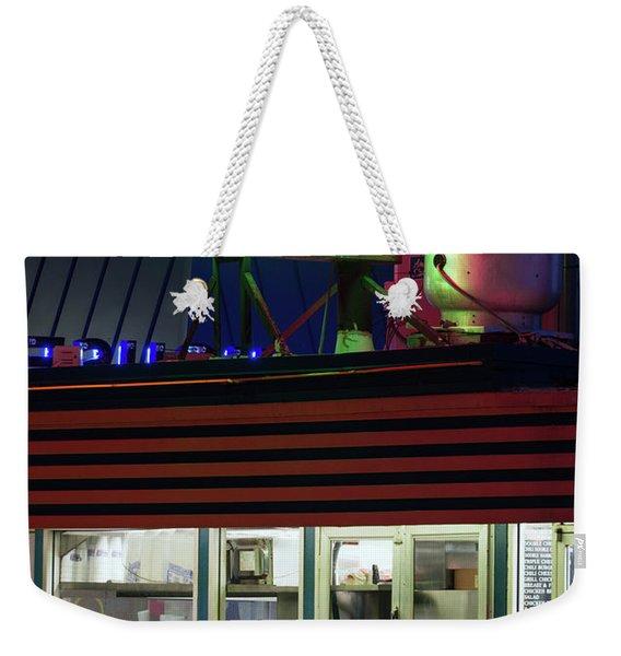 Burger House Hillcrest Weekender Tote Bag