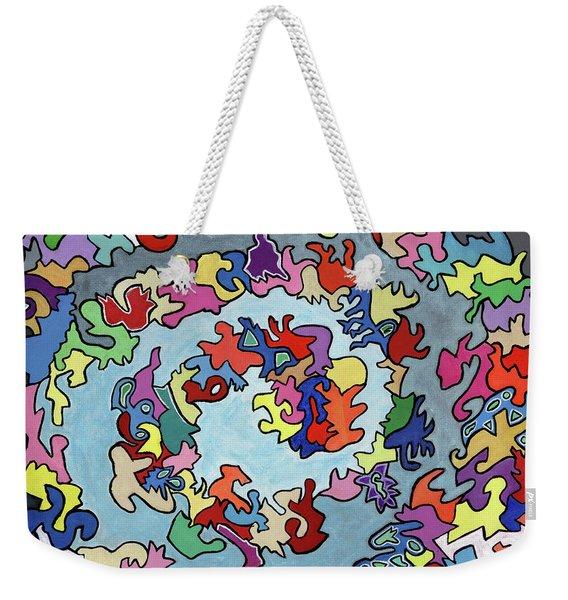 Burgess-crabtree-wade-rose-daniel Weekender Tote Bag