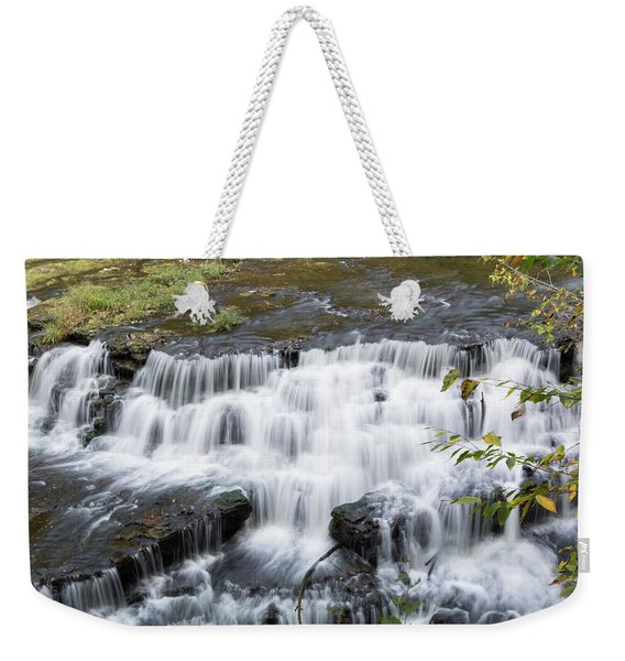 Burgess Falls Middle Weekender Tote Bag