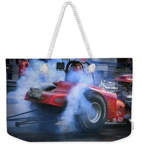 Burn Weekender Tote Bag