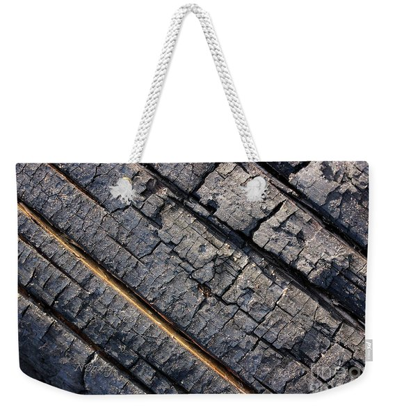 Burnt Bark Weekender Tote Bag