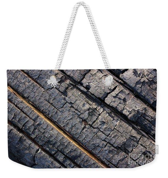 Burnt Bark Weekender Tote Bag