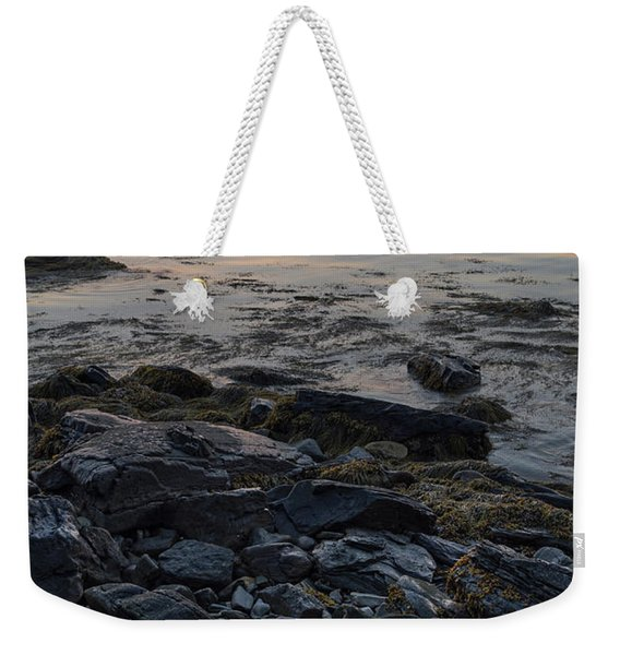 Weekender Tote Bag featuring the photograph Burnt Dawn, Camden, Maine  -54019-54020 by John Bald