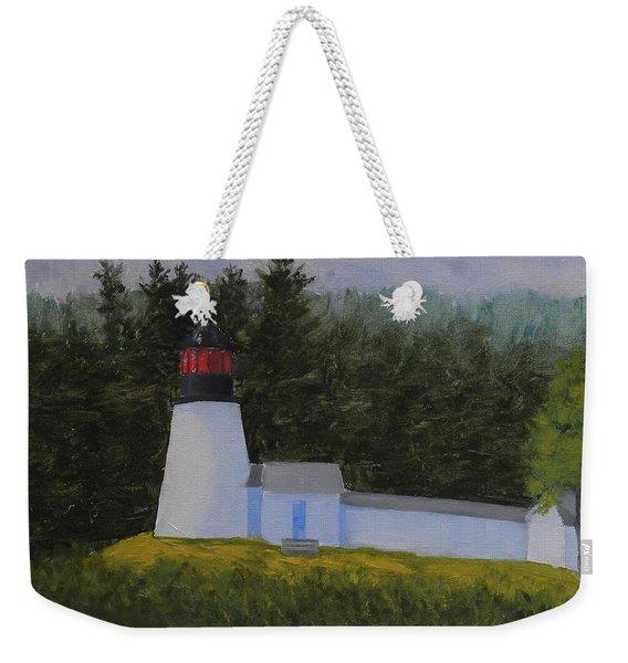 Burnt Island Light Weekender Tote Bag