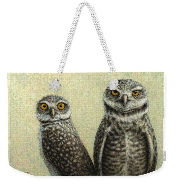 Burrowing Owls Weekender Tote Bag