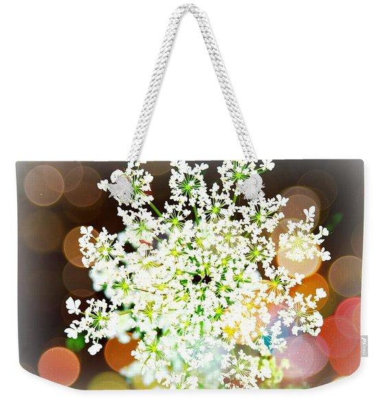 Burst Of Light Kaleidoscope Weekender Tote Bag