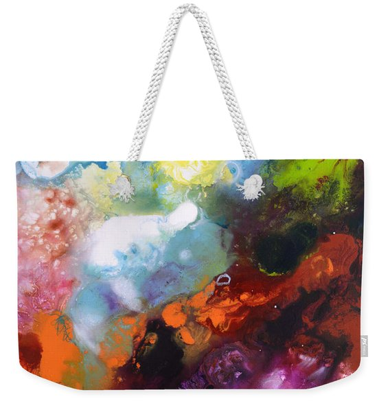 Burst Of Light Three Of Three Weekender Tote Bag