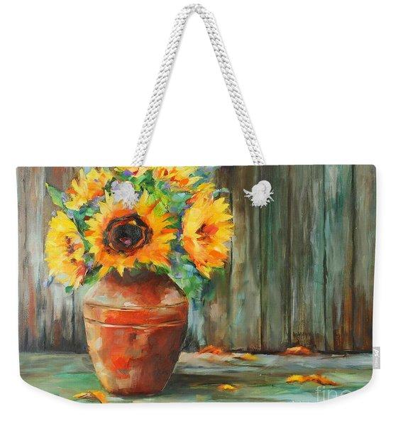 Bursts Of Sunshine Weekender Tote Bag