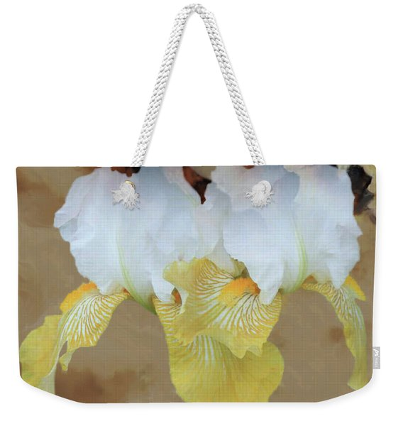 Burth Cloudy Paper Weekender Tote Bag