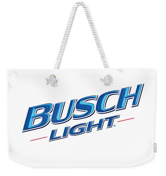 Busch Light Weekender Tote Bag