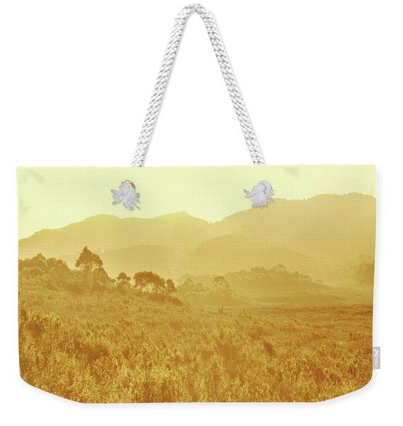 Bushland Of Western Dynamics Weekender Tote Bag