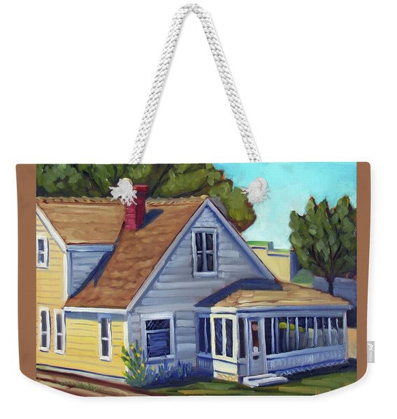 Bushnell House - Eagle Idaho Weekender Tote Bag