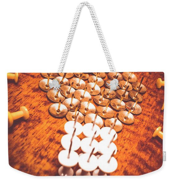 Busiiness Still Life Ideas Weekender Tote Bag