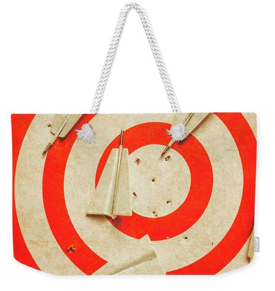 Business Target Practice Weekender Tote Bag