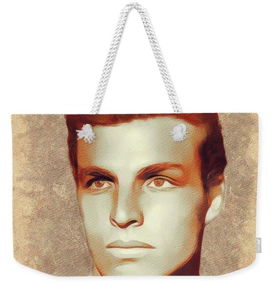 Buster Crabbe, Hollywood Legend Weekender Tote Bag