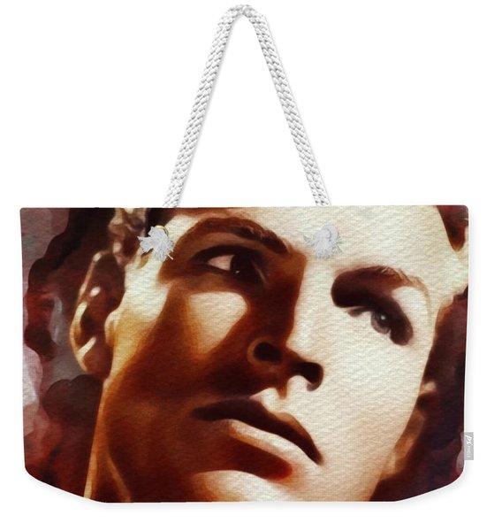 Buster Crabbe, Vintage Movie Star Weekender Tote Bag