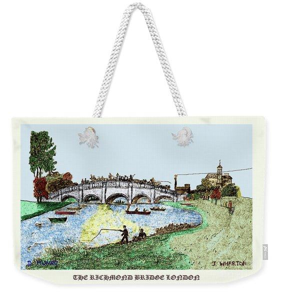 Busy Richmond Bridge Weekender Tote Bag