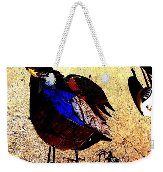 But It's A Dry Heat Weekender Tote Bag