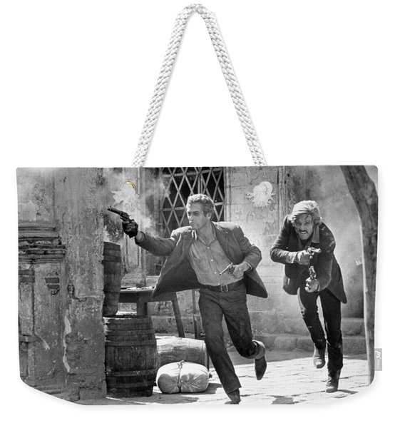 Butch Cassidy And The Sundance Kid - Newman And Redford Weekender Tote Bag
