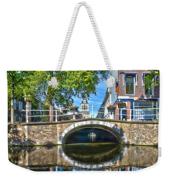 Butter Bridge Delft Weekender Tote Bag