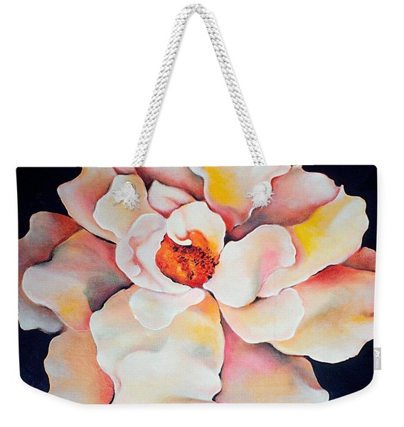 Butter Flower Weekender Tote Bag